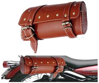 Capeshoppers Royal Enfield Saddle Bag Universal - Beige