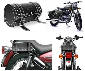 Capeshoppers Royal Enfield Duffle Bag For Royal Enfield Classic 350
