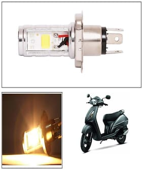 Capeshoppers CYT H4 LED For TVS Jupiter Scooty