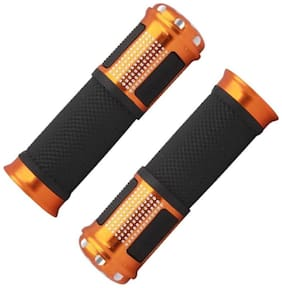 Capeshoppers Stylish Bike Handle Grips For Mahindra Duro Dz Scooty