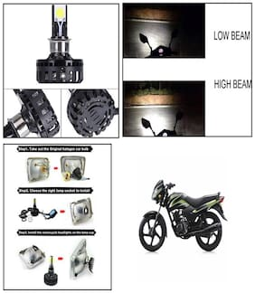 Capeshoppers M2 High Power Led For TVS Apache RTR 160