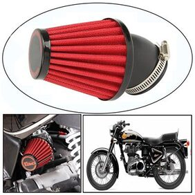 Capeshoppers RAD High Performance Bike Air Filter For Royal Enfield BULLET 500