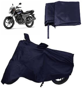 Capeshoppers Bike Body Cover Blue For Yamaha Sz-S