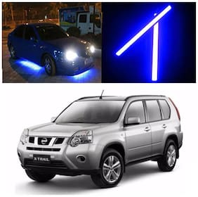 Capeshoppers Car Daytime Running Light (DRL)Blue For Nissan X-Trails
