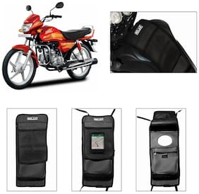 Capeshoppers Utility Tank Bag For Hero Motocorp Hf Deluxe