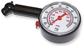 Capeshoppers Analog Tyre Gauge For Yamaha FZS FI