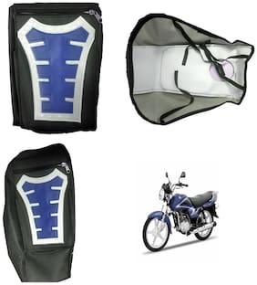 Capeshoppers Utility Big Tank bag Blue For Suzuki ZEUS