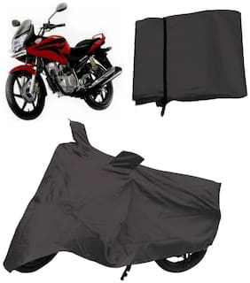 Capeshoppers Bike Body Cover Grey For Honda Stunner Cbf