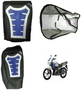 Capeshoppers Utility Big Tank bag Blue For Yamaha GLADIATOR