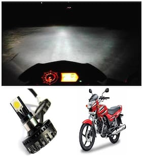 Capeshoppers M3 High Power Led For Bike Headlight For Hero MotoCorp Achiever