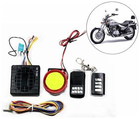Capeshoppers Yqx Ultra Small Anti-theft Security Device And Alarm For Bajaj Avenger 220