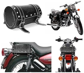 Capeshoppers Royal Enfield Duffle Bag For Royal Enfield Bullet 350