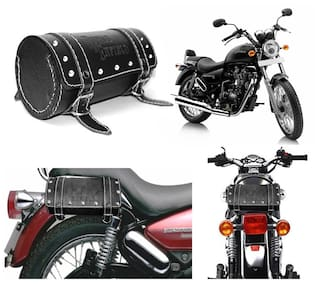 Capeshoppers Royal Enfield Duffle Bag For Royal Enfield Thunderbird 350