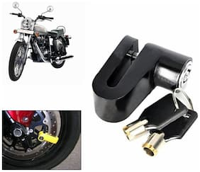 Capeshoppers - Heavy Metal Disc Break Security Lock For Royal Enfield Classic 350