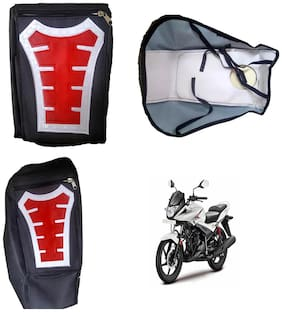 Capeshoppers Utility Big Tank bag Red For Hero MotoCorp Ignitor 125 Drum