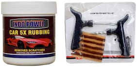 CAR 5X RUBBING 250 g+ Tubelass smart Panchar Kit.