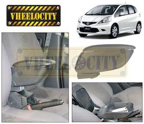 Car Armrest Console Grey Colour for Honda Jazz