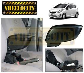 Car Armrest Console Black Colour for Chevrolet Beat