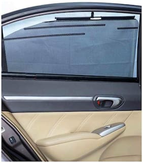 Car Automatic Side Window Sun Shade Set of 4pcs For Maruti Vitara Brezza