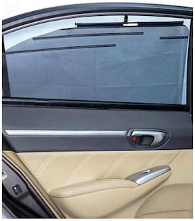 Car Automatic Side Window Sun Shade Set of 4pcs For Ford Endeavour (2017)