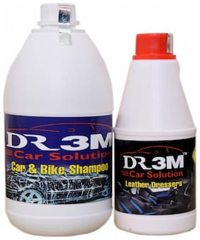 CAR & BIKE SHAMPOO 1ltr. + LEATHER DRESSER POLISH 500mL.