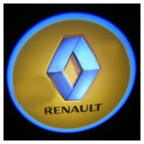 Car Door Welcome Light LED Projection Ghost Shadow Light Laser RENAULT Logo