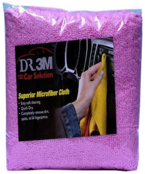 CAR MICROFIBER CLOTH- PINK