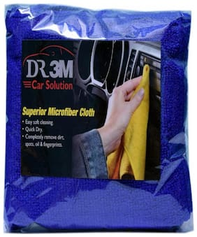 CAR MICROFIBER CLOTH- BLUE