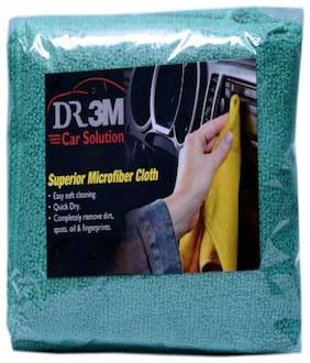 CAR MICROFIBER CLOTH- GREEN