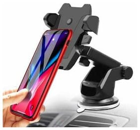 Car Mobile Holder one touch Universal Long Neck 360° Rotation for Iphone and all smart phone