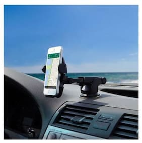 Car Mount Long Neck Universal Car Mobile Holder 360 Rotation with Ultimate Reusable Suction Cup