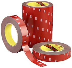 Car Point Galio 3M Double Sided Adhesive Tape 1.27 cm (1/2 inch) - 10 Meter Long