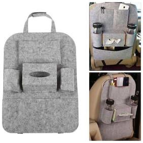 Car Seat Back Multi Pocket Storage Bag Holder Organizer Hanger Bottle Accessories