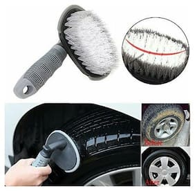 Car Tire Cleaning Scrub Brush Tool for Audi 4
