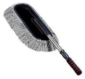 Car Wash Cleaning Brush Duster Dust Wax Mop Microfiber Dusting Tool (Assorted Color Pack of 1)