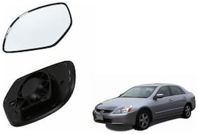 Carizo Car Rear View Side Mirror Glass LEFT-Honda Accord 2.4 Type 5