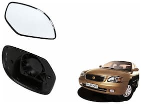 Carizo Car Rear View Side Mirror Glass LEFT-Maruti Baleno