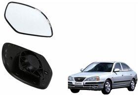 Carizo Car Rear View Side Mirror Glass RIGHT-Hyundai Elantra Old