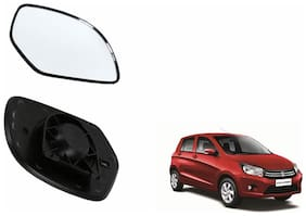 Carizo Car Rear View Side Mirror Glass LEFT-Maruti Celerio