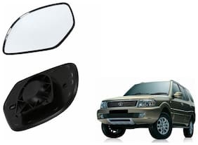 Carizo Car Rear View Side Mirror Glass RIGHT-Tata Safari Dicor