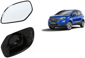 Carizo Car Rear View Side Mirror Glass LEFT-Ford EcoSport 2018