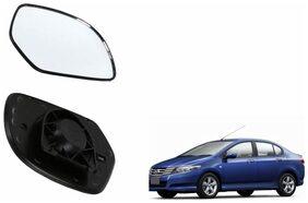 Carizo Car Rear View Side Mirror Glass LEFT-Honda City ZX