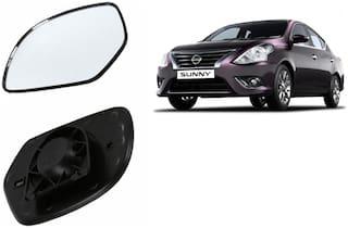 Carizo Car Rear View Side Mirror Glass RIGHT-Nissan Sunny