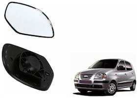 Carizo Car Rear View Side Mirror Glass RIGHT-Hyundai Eon