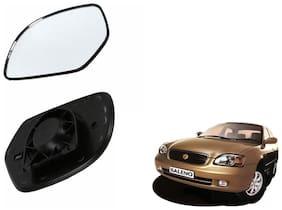 Carizo Car Rear View Side Mirror Glass RIGHT-Maruti Baleno