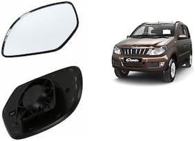 Carizo Car Rear View Side Mirror Glass RIGHT-Mahindra Quanto