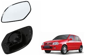 Carizo Car Rear View Side Mirror Glass RIGHT-Maruti Zen Old