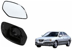 Carizo Car Rear View Side Mirror Glass LEFT-Hyundai Elantra Old