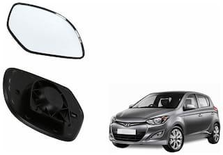 Carizo Car Rear View Side Mirror Glass RIGHT-Hyundai i20 Type 1 (2008-2013)