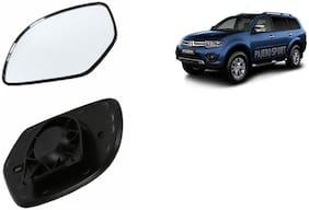 Carizo Car Rear View Side Mirror Glass LEFT-Mitsubishi Pajero Sport